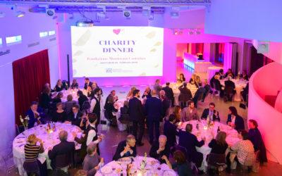 Charity Dinner 2019 di Fondazione Mantovani Castorina