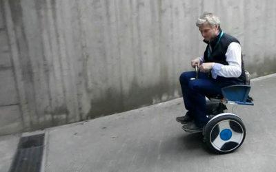 Carrozzina Seat Way per persone paraplegiche