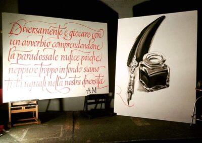 Opera di Piger per Poesia di Antonio Giuseppe Malafarina